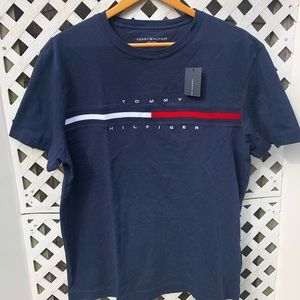 Tommy Hilfiger embroidered flag tee
